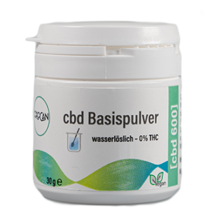 CBD Pulver 600mg in der 30g Dose